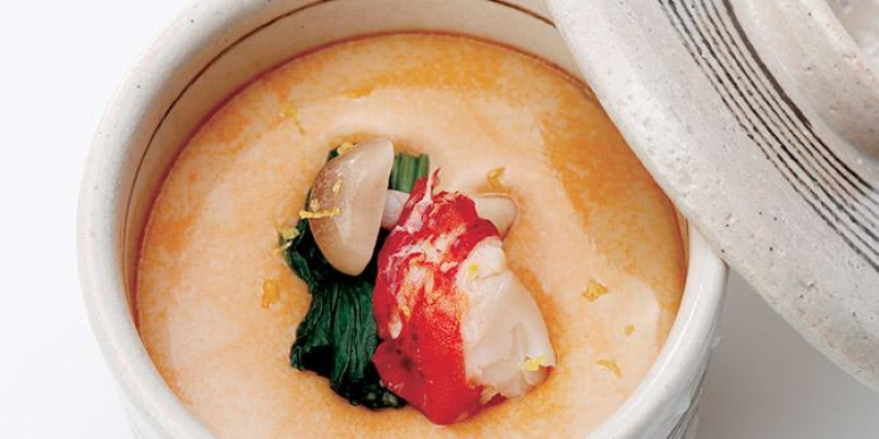 Chawan-muchi with lobster