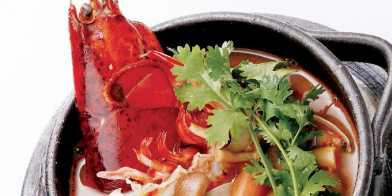 Lobster tom yum kung